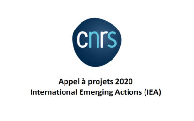 Appel à projets 2020 International Emerging Actions (IEA)