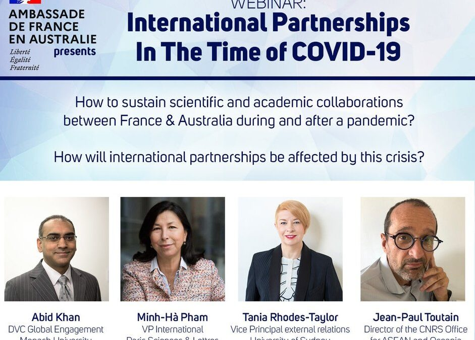 WEBINAR : INTERNATIONAL PARTNERSHIPS IN THE TIME OF COVID-19