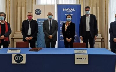[FRANCE] CNRS and Naval Group sign a strengthening partnership agreement