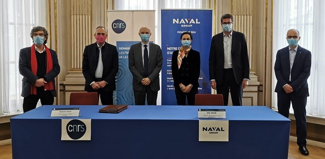 FRANCE: CNRS and Naval Group sign a strengthening partnership agreement