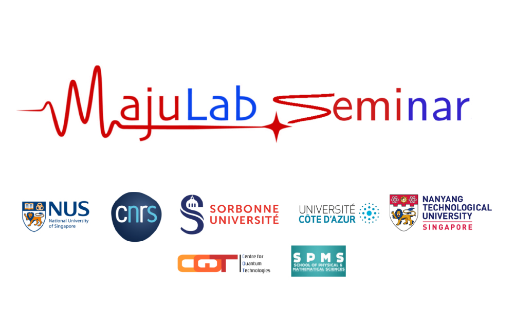 [SINGAPORE] Majulab Seminar – 3 March: An introduction to many-body localization in condensed matter physics