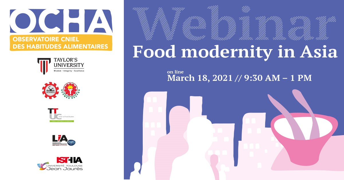 Food modernity in Asia