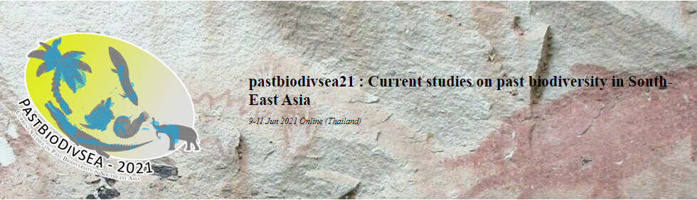 pastbiodivsea21 : Current studies on past biodiversity in South-East Asia