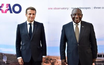 [AUSTRALIA] French President Emmanuel Macron announced France's accession to SKA Observatory