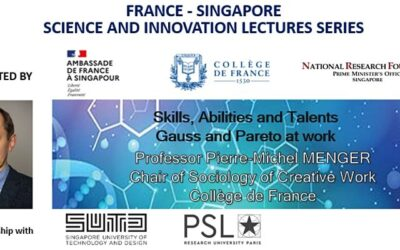 [SINGAPORE] FrenchLab France – Singapore Science and Innovation Lectures series – Professor Pierre-Michel Menger
