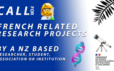 """[NEW ZEALAND] French Embassy Call for """"French Related Research Projects"""" (F2RP)"""